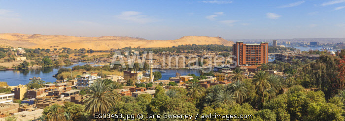 Awl Images Egypt Upper Egypt Aswan View Of New Cataract Hotel And