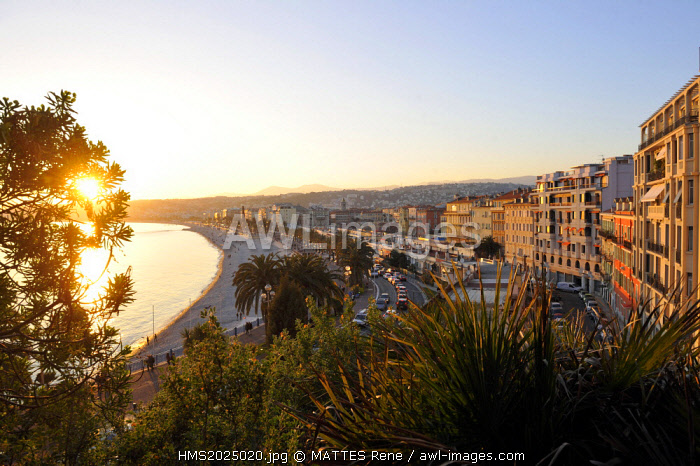 France, Alpes-Maritimes, Nice, the Promenade des Anglais