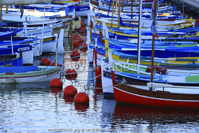 France, Alpes Maritimes, Nice, the old harbor, sharp
