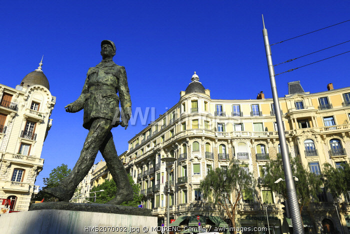 France, Alpes Maritimes, Nice, Liberation district, Place General de Gaulle