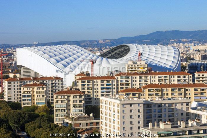 France, Bouches du Rhone, Marseille, the Stade Velodrome