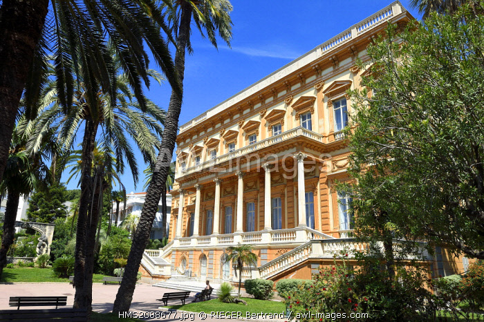 France, Alpes Maritimes, Nice, Museum of Fine Arts former palace of Princess Kotschoubey