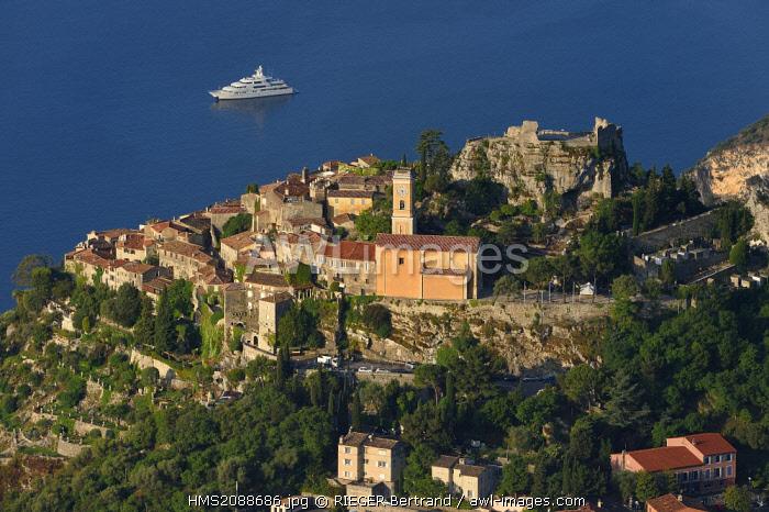 France, Alpes Maritimes, the hilltop village of Eze