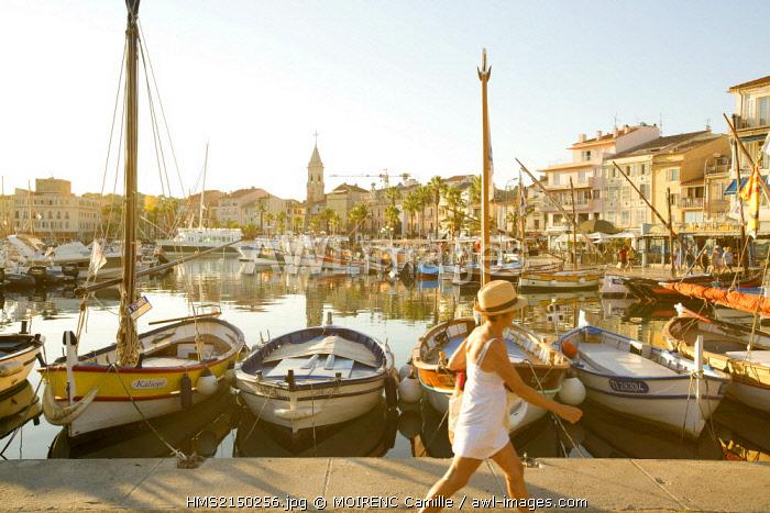 France, Var, Sanary sur Mer, the port