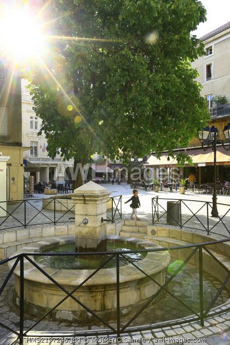 France, Vaucluse, Orange, place Georges Clemenceau