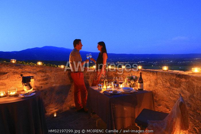 France, Vaucluse, Crillon le Brave Hotel Crillon Le Brave