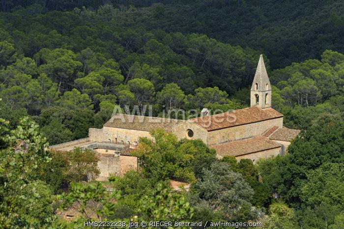 France, Var, the Thoronet cistercian abbey