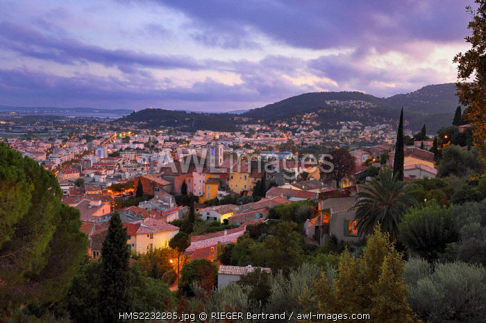 France, Var, Hyeres, the Old Town and St Paul Collegiate Church