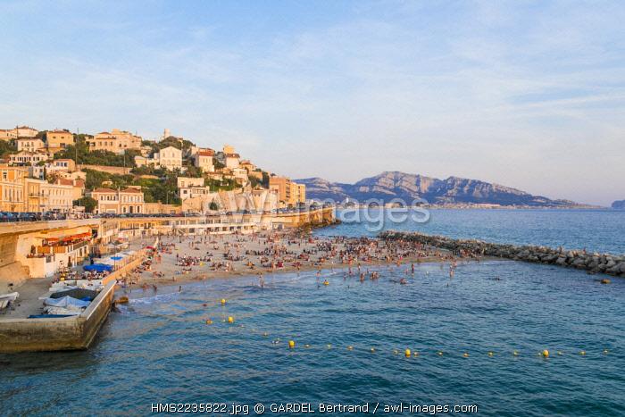 France, Bouches du Rhone, Marseille, the range of the Prophet