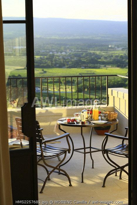 France, Vaucluse, Crillon le Brave, Hotel Crillon Le Brave