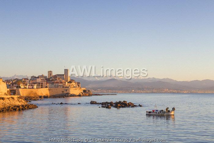 France, Cote D'Azur, Alpes Maritimes, Antibes