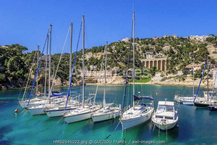 France, Bouches du Rhone, Blue Coast, Ensues la Redonne, La Redonne