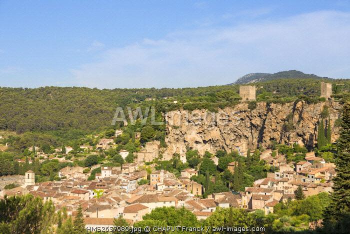 France, Var, Provence Verte, Cotignac
