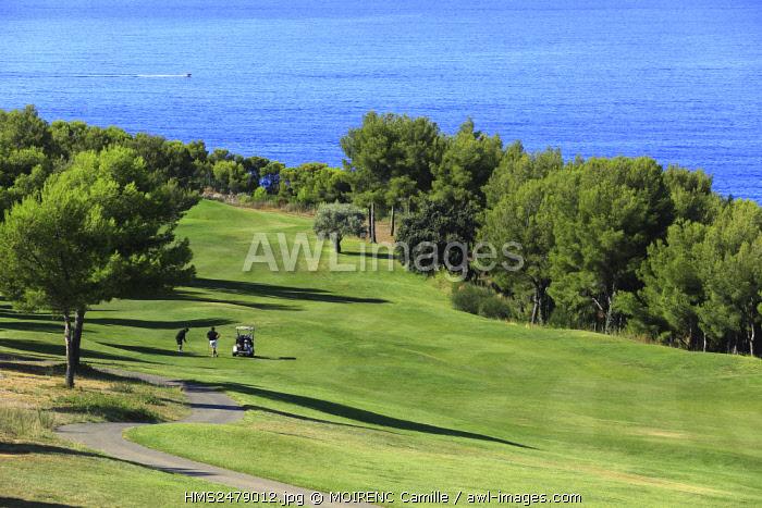 France, Var, Saint Cyr sur Mer, Golf Fregate