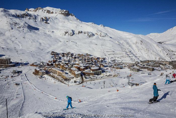 France, Savoie, Vanoise massif, Tarentaise valley, Tignes, Tignes le Lac
