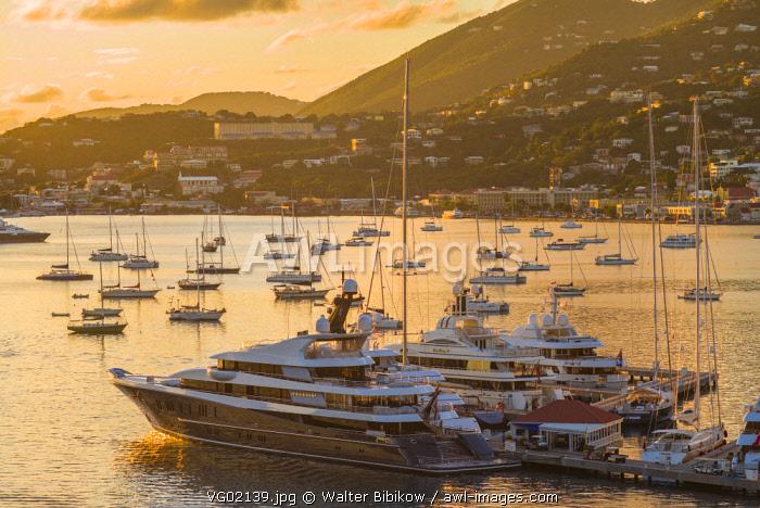 U.S. Virgin Islands, St. Thomas, Charlotte Amalie, Havensight Yacht Harbor