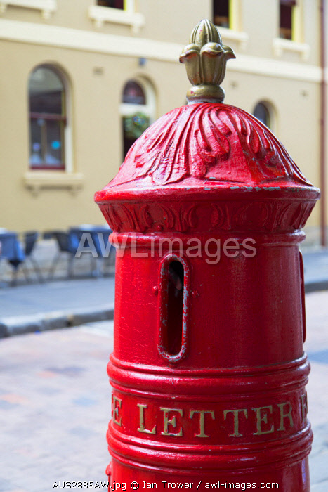 awl-images.com - Australia / Postbox, The Rocks, Sydney, New South Wales, Australia
