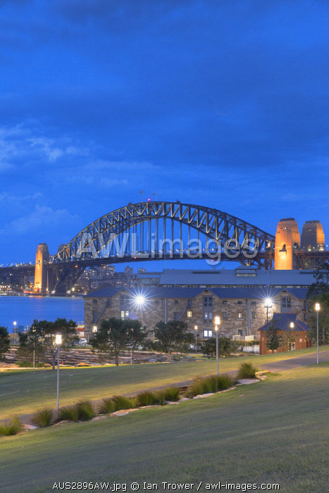 awl-images.com - Australia / Sydney Harbour Bridge from Barangaroo Reserve, Sydney, New South Wales, Australia