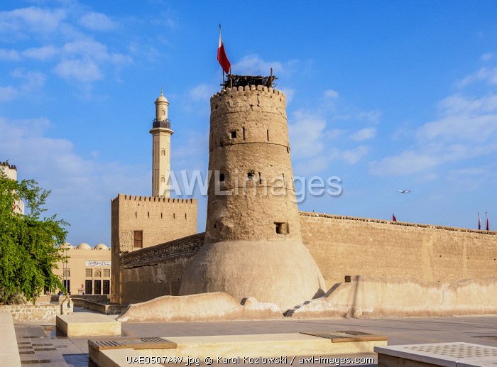 awl-images.com - United Arab Emirates / Dubai Museum, Al Fahidi Fort, Dubai, United Arab Emirates