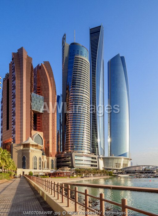 awl-images.com - United Arab Emirates / Etihad Towers, Abu Dhabi, United Arab Emirates