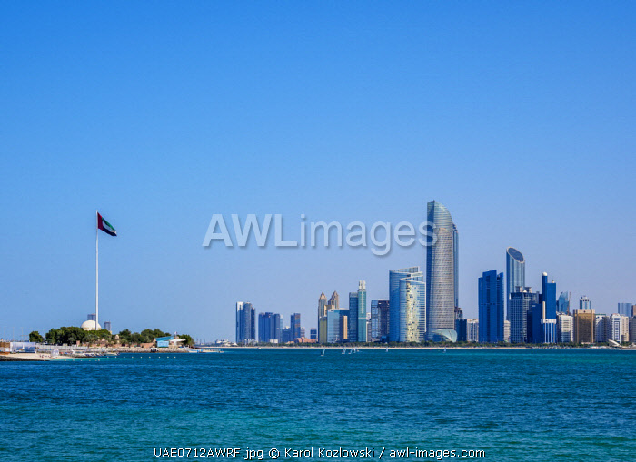 awl-images.com - United Arab Emirates / Skyline of the city center, Abu Dhabi, United Arab Emirates