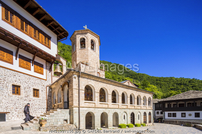 awl-images.com - Macedonia / Republic of Macedonia, Mavrovo and Rostoucha, the Orthodox Monastery of St John Bigorski