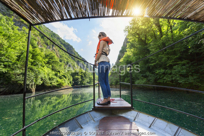 awl-images.com - Macedonia / Republic of Macedonia, Sarai, the lake and canyon of Matka, powered by the Treska River