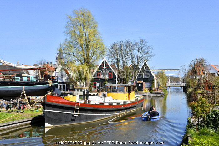 awl-images.com - Holland / Netherlands, Northern Holland, Edam village