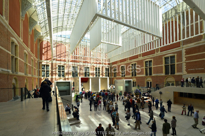 awl-images.com - Holland / Netherlands, Northern Holland, Amsterdam, Museum district, Rijksmuseum