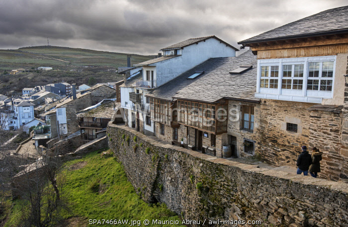 awl-images.com - Spain / The medieval village of Puebla de Sanabria. Castilla y Leon, Spain