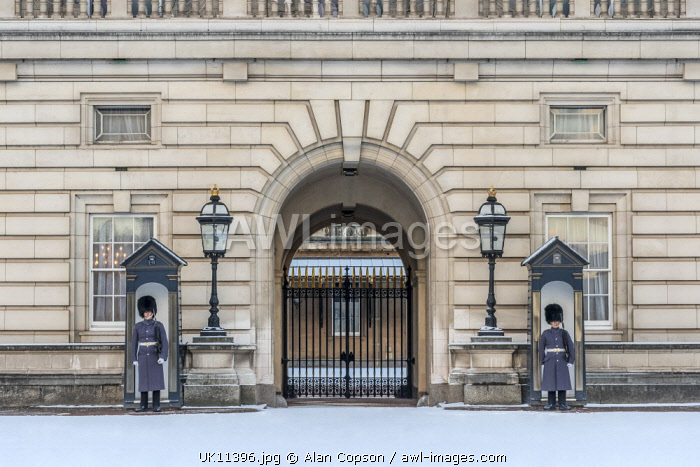 UK, England, London, Buckingham Palace, Guard