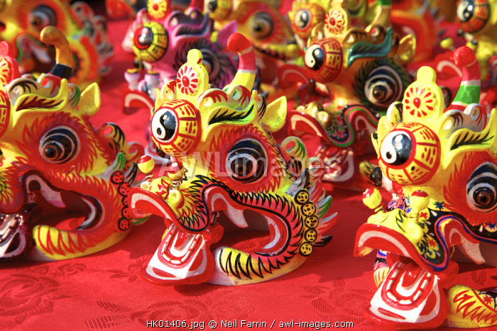 Chinese New Year Decorations, Hong Kong, Special Administrative Region of the People's Republic of China