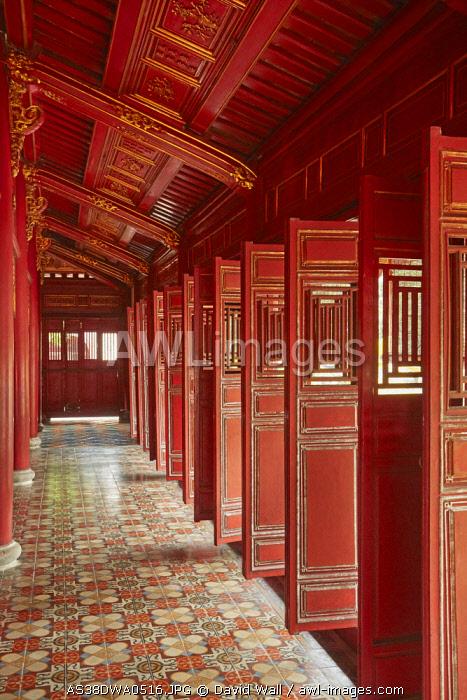 Hung Mieu Temple, Historic Hue Citadel, Imperial City, Hue, North Central Coast, Vietnam