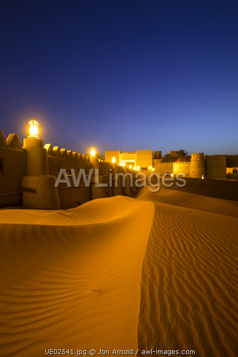 Anantara Qasr Al Sarab resort, Empty Quarter (Rub Al Khali), Abu Dhabi, United Arab Emirates