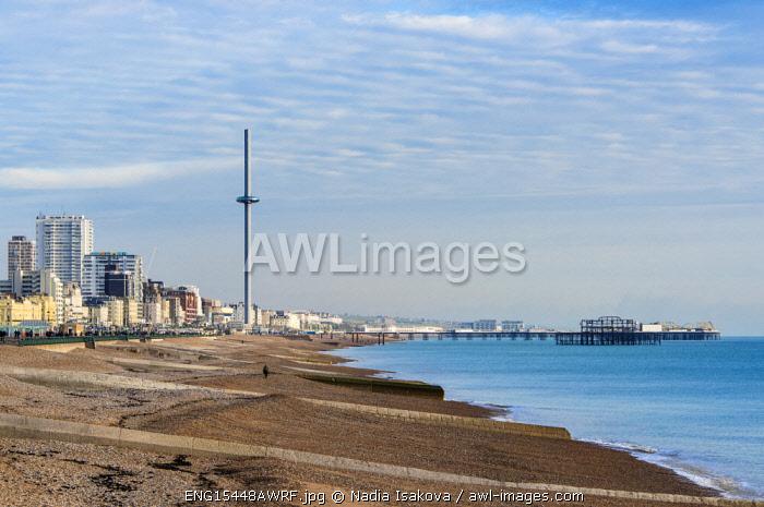 Brighton, traditional seaside resort in East Sussex, England