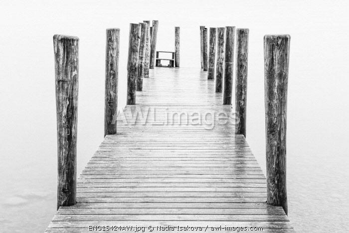 Ashness jetty, Derwentwater, Cumbria, England