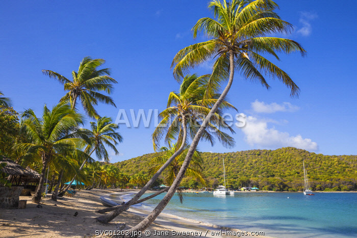 St Vincent and The Grenadines, Mayreau, Saltwhistle Bay