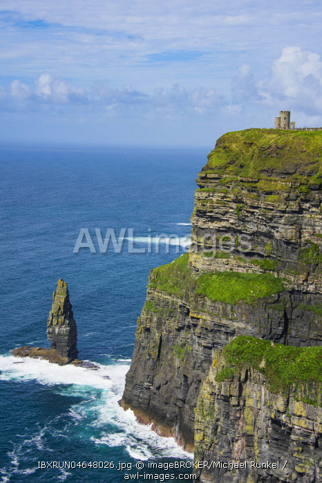 Cliffs of Moher, County Clare, Ireland, United Kingdom, Europe