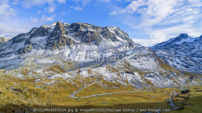 Piz da las Coluonnas, Julierpass, Graubunden, Switzerland, Europe
