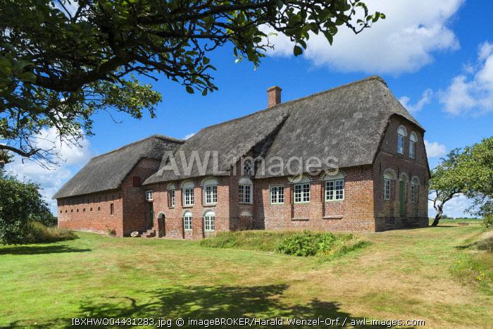 Old farmhouse, Kommanda� Danish National Museum, Toftum, Rama� region of Southern Denmark, Denmark, Europe