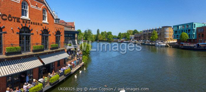 UK, England, Berkshire, Eton and Windsor, River Thames