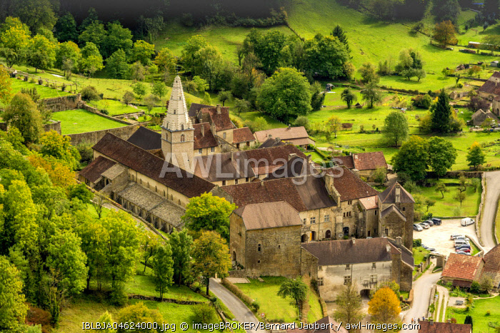 Saint-Pierre abbey, Baume-les-Messieurs, Jura department, Bourgogne-Franche-Comté, France, Europe