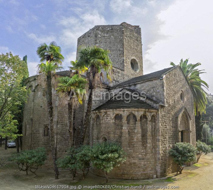 Sant Pau del Camp Monastery, Barcelona, Catalonia, Spain, Europe