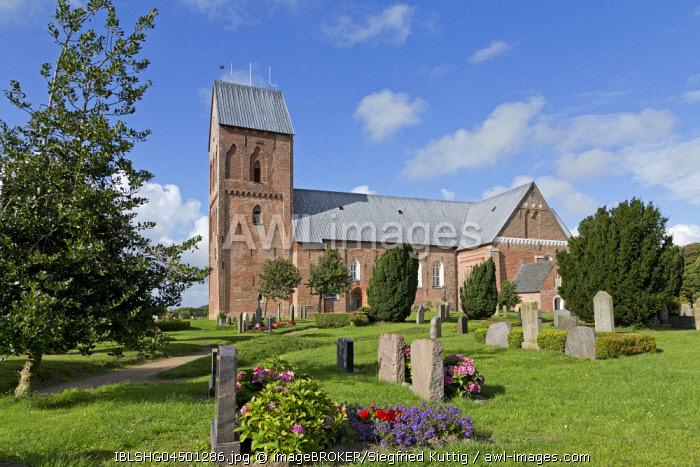 St. John's Church, Nieblum, Foehr Island, North Frisia, Schleswig-Holstein, Germany, Europe