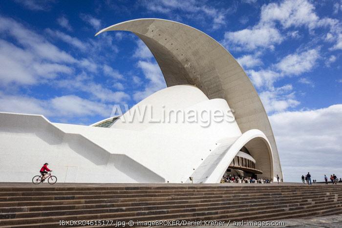 Auditorio de Tenerife, Concert Hall, Architect Santiago Calatrava, Santa Cruz de Tenerife, Tenerife, Canary Islands, Spain, Europe