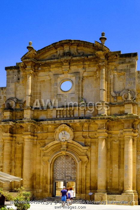 Former church, ruins of S. Ignazio, Mazara del Vallo, Province of Trapani, Sicily, Italy, Europe