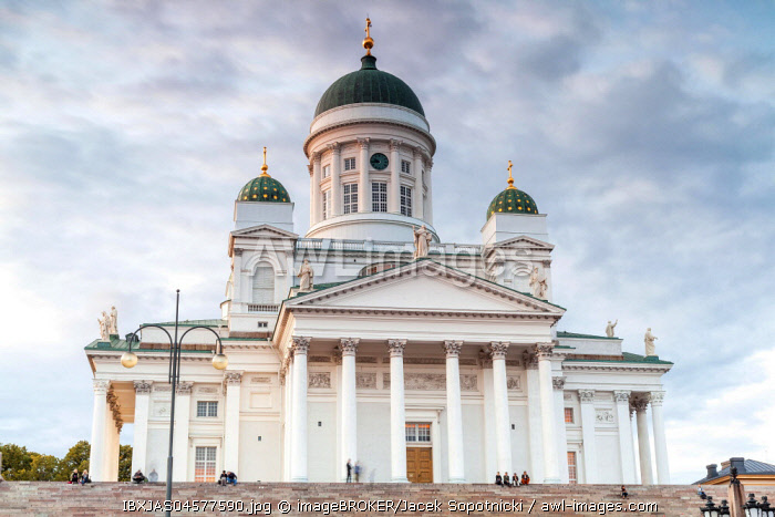 Cathedral, Helsinki, Finland, Europe
