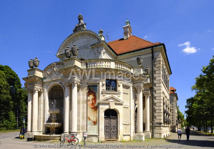 Bavarian National Museum, Lehel, Munich, Upper Bavaria, Bavaria, Germany, Europe