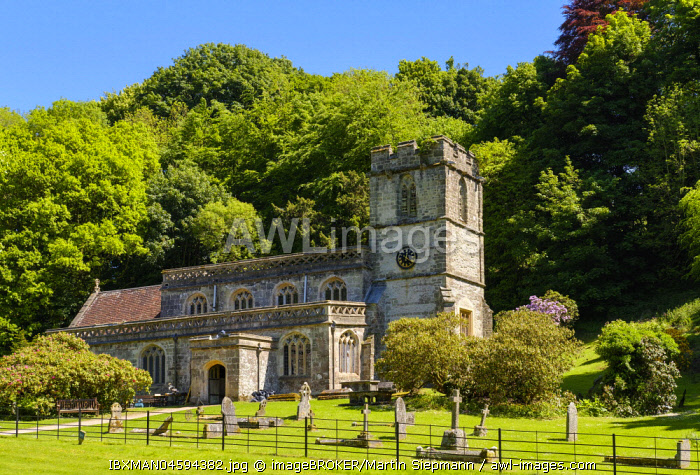 Church of St. Peter, Stourton, Wiltshire, England, Great Britain
