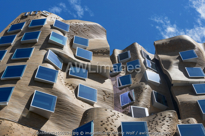 Modern architecture, Dr. Chau Chak Wing building, University of Technology Sydney, New South Wales, Australia, Oceania